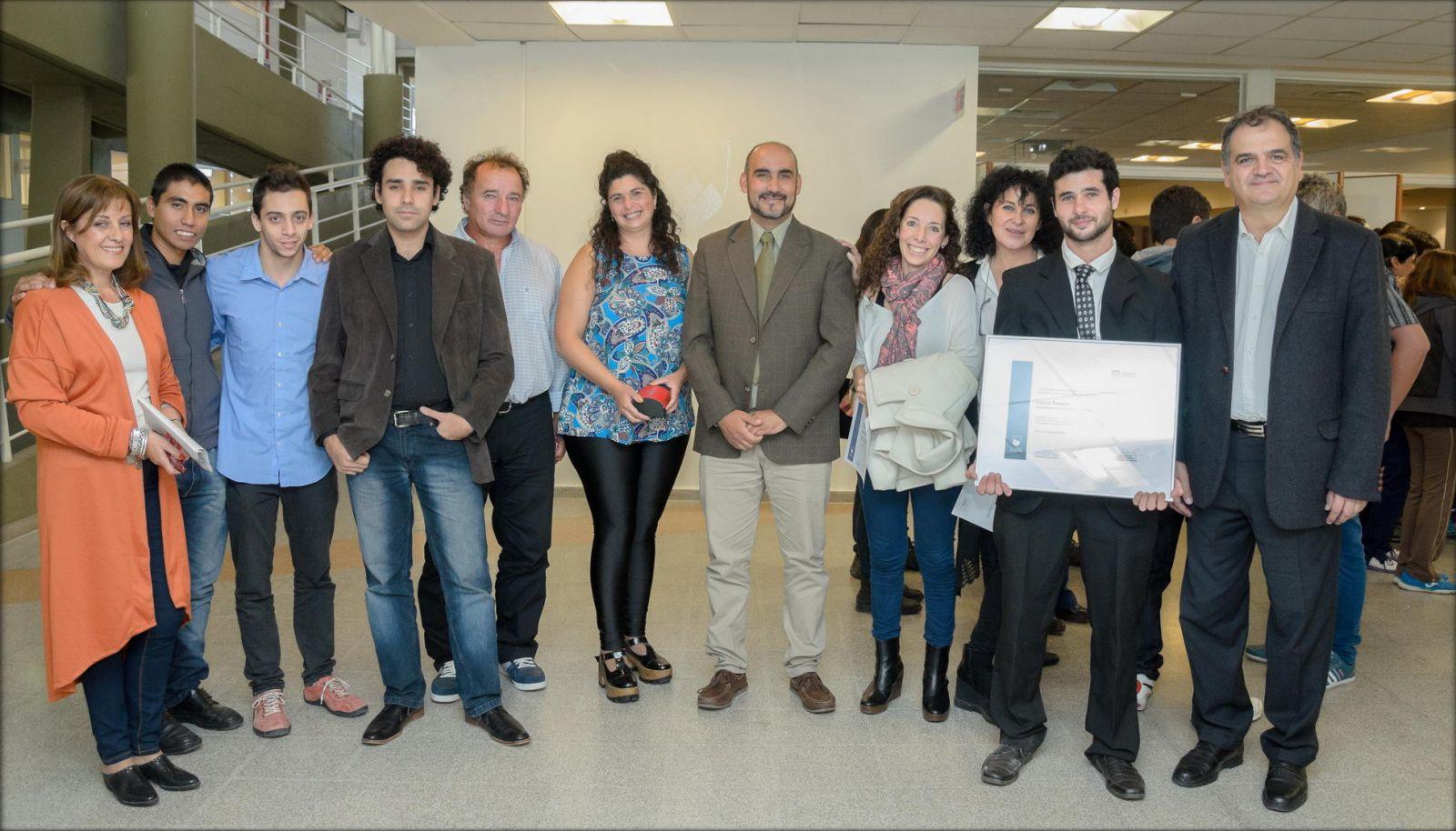 -El logro de Lucas fue reconocido por toda la comunidad universitaria de la ULP.