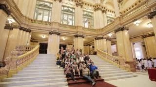 Alumnos de escuelas de parajes de San Luis se encuentran en Buenos Aires