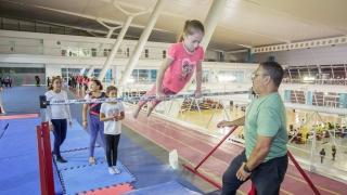El equipo de gimnasia artística del Campus se lanza a la competencia