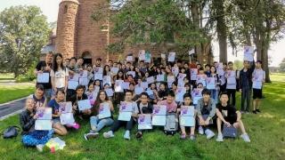 Viaje a Estados Unidos: los olímpicos comparten  su experiencia internacional de aprendizaje