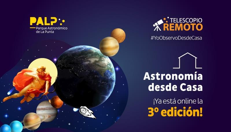 El sistema solar es el protagonista de la 3ra entrega de Astronomía desde Casa