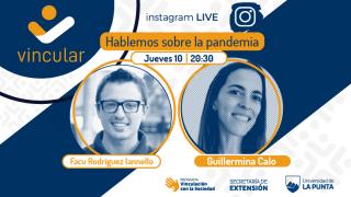 """Ciclo de charlas Vincular: este jueves estará Guillermina Calo, quien forma parte del equipo """"Ciencia Anti Fake News Covid-19"""""""