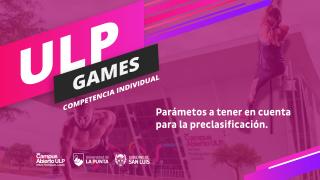 """""""ULP Games"""" será pura adrenalina y emoción"""