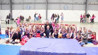 Dos títulos y podios para las pequeñas gimnastas del Campus ULP