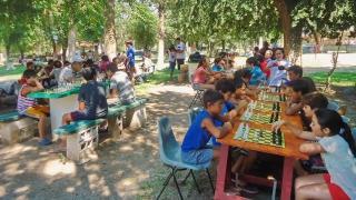 Las piezas de ajedrez fueron las protagonistas en Concarán