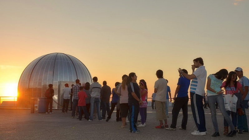 Los astros más cerca de San Luis: comienza la gira del Planetario Itinerante
