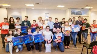 Premiaron a los ganadores de la segunda edición de Matemáticos 3.0