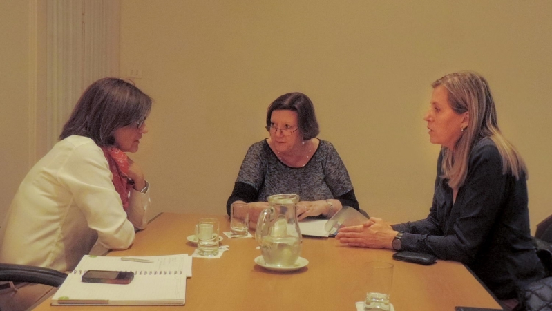 La ULP y la UNESCO mantuvieron una reunión de trabajo
