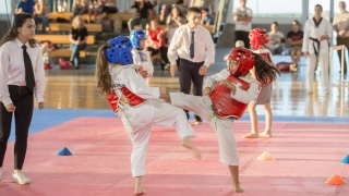 El Campus fue epicentro del  tercer encuentro infantil de taekwondo