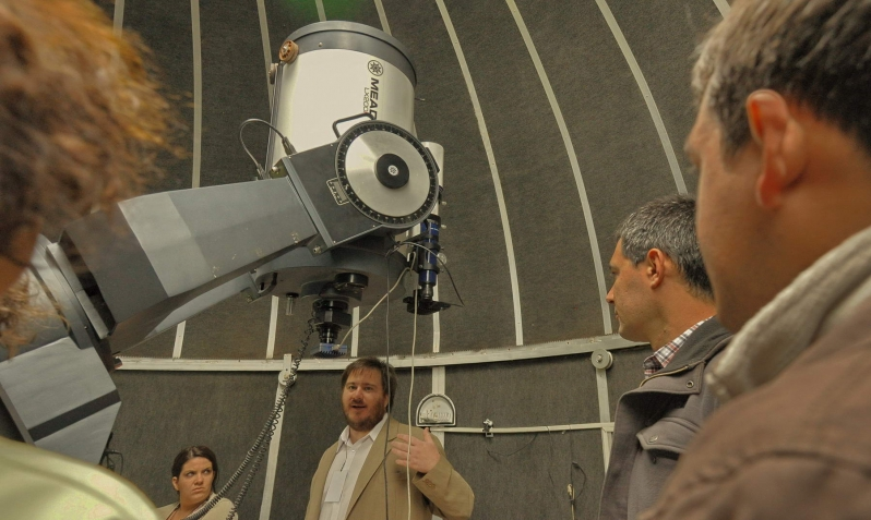 """""""Noche para aficionados del cielo"""": se acerca una nueva velada astronómica en el PALP"""
