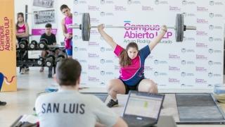 La instancia local de levantamiento olímpico se realizó en el Campus