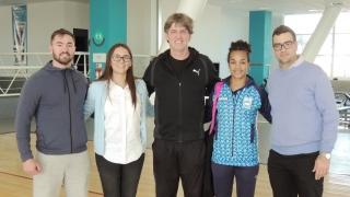 """Peruchena: El Campus ULP """"es un oasis deportivo en el país"""""""
