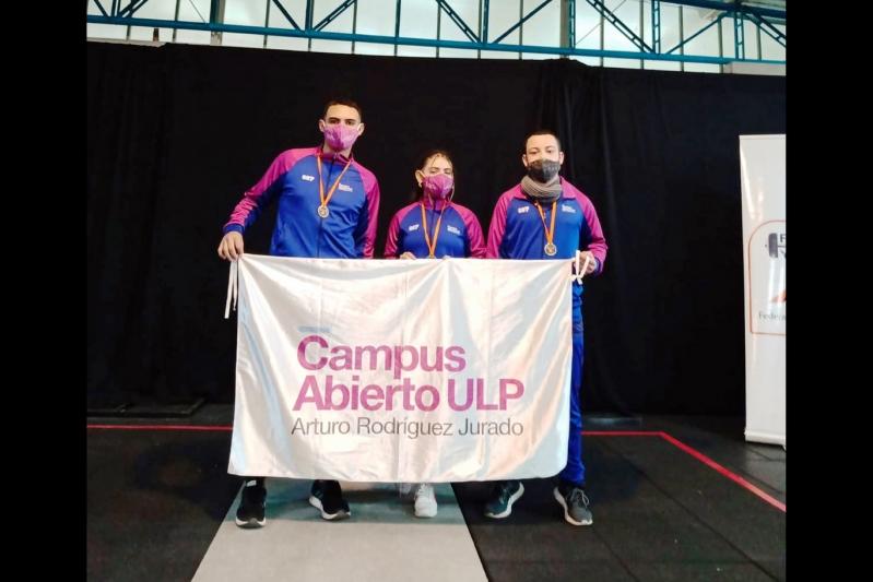 San Luis brilló con espíritu olímpico en el levantamiento de pesas