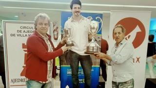 Por tercera vez, Diego Flores se consagró campeón  del XXIV Abierto de Ajedrez PROAM