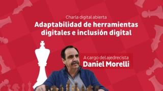 Morelli brindará una charla a la comunidad de Santa Rosa del Conlara
