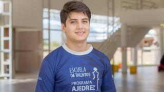 """""""El ajedrez es mi pasión, una meta que me puse en la vida para llegar lejos"""""""