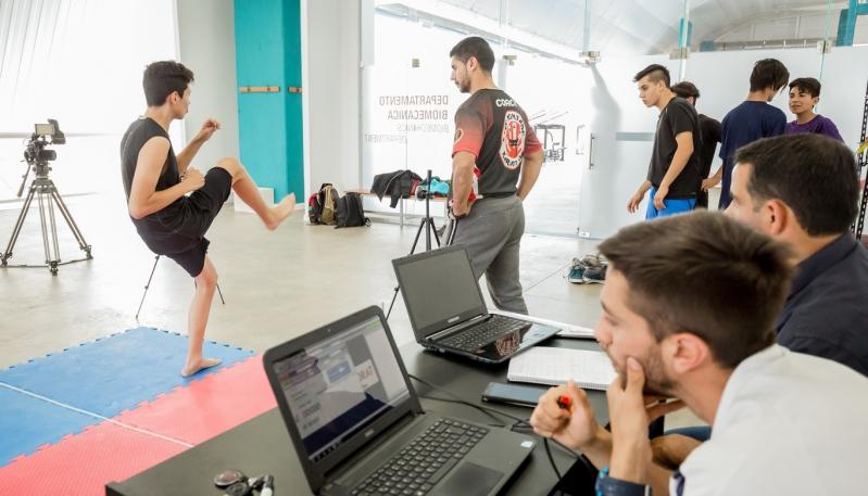 Karatecas juveniles fueron testeados en el Campus
