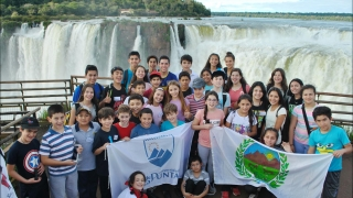 Las Cataratas del Iguazú impactaron a los ganadores de Olimpíadas