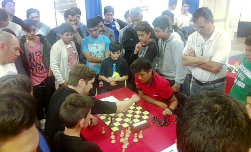 Pablo Acosta se coronó campeón provincial del 1° Torneo de Ajedrez de la Puntanidad