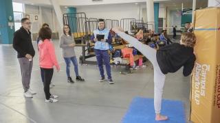 Dakar 2022: taekwondo y levantamiento olímpico se proyectan desde el Campus de la ULP