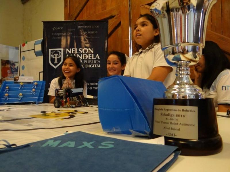 San Luis presente en el 1º Encuentro de Robótica Educativa de Villa María