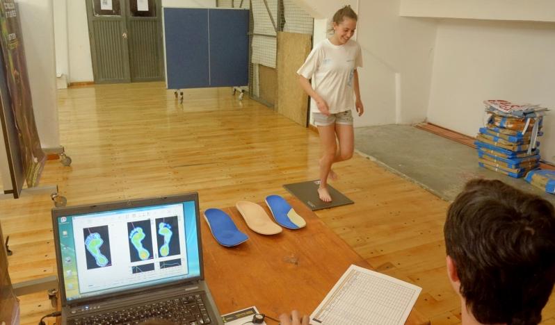 Más de 120 atletas sanluiseños midieron su rendimiento físico en el Ave Fénix