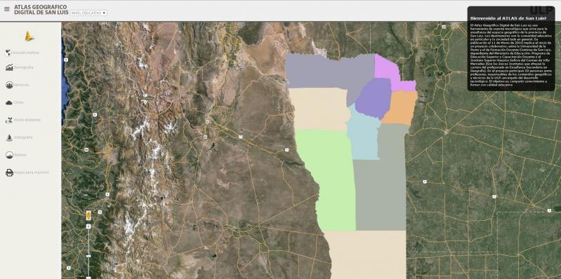 El nuevo Atlas de San Luis ya se encuentra online