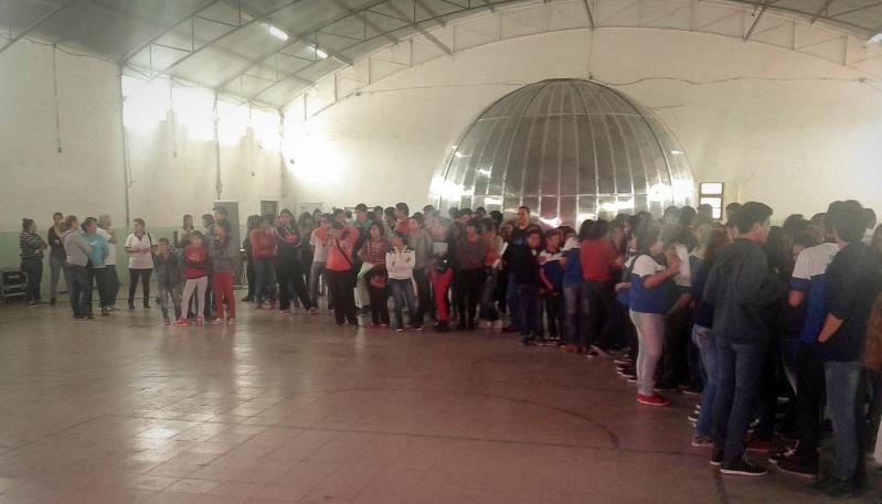 El Planetario Itinerante llega al sur provincial