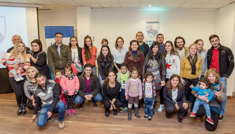"""""""Ojalá otras provincias y países sigan el ejemplo de San Luis de integrar a los refugiados"""""""