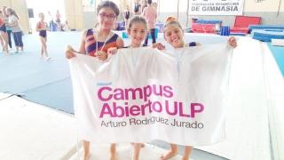 Seis gimnastas del Campus compitieron en el Regional de San Juan