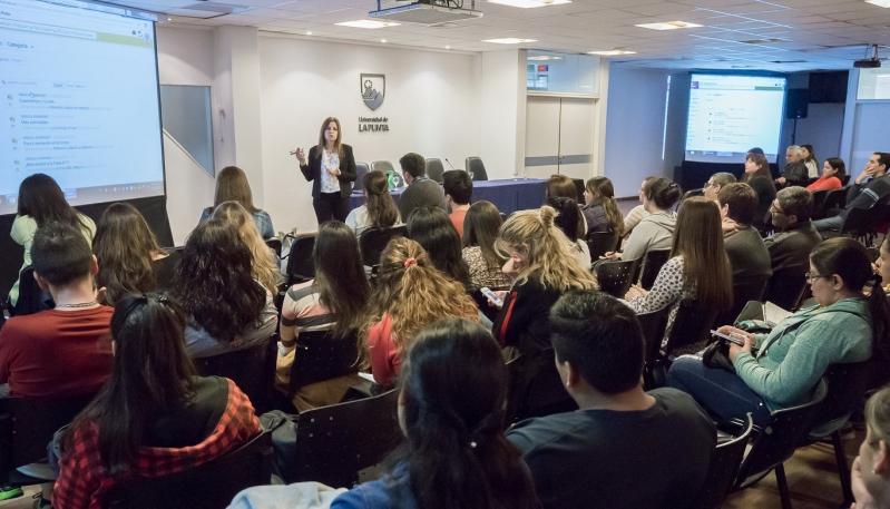 Jornadas de capacitaciones para alumnos de ULP Virtual  sobre la plataforma de cursada