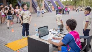 """Escuela Generativa """"Ave Fénix"""": realizaron evaluaciones deportivas en su inauguración"""
