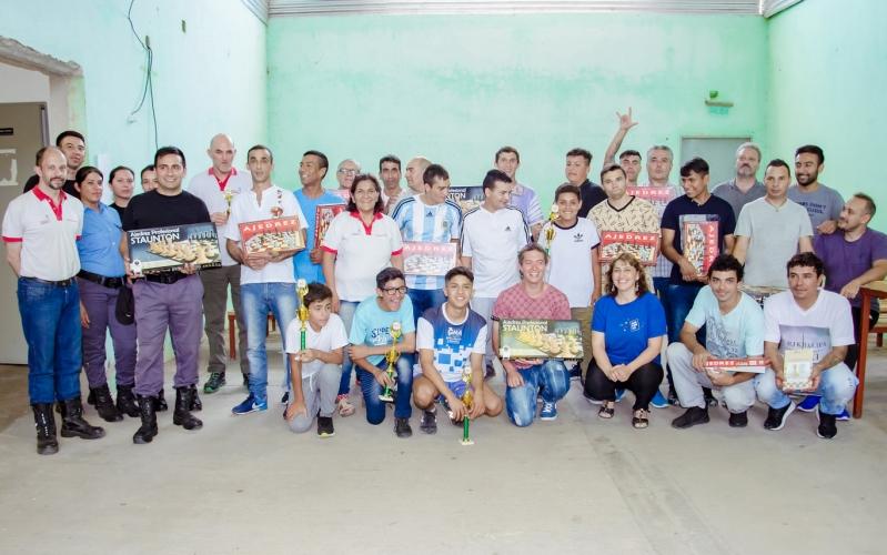 La ULP realizó el 1º  Torneo Integrador en el Complejo Penitenciario Pampa de las Salinas de San Luis