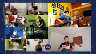 Los alumnos de la Escuela de Música ULP presentaron su segundo tema desde casa