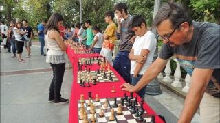 Más de 200 personas participaron de una verdadera fiesta ajedrecística