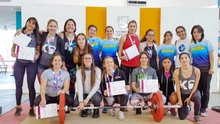 El segundo torneo de levantamiento olímpico fue furor en el Campus de la ULP