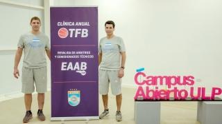 Más de 50 árbitros nacionales de básquet se capacitaron en el Campus de la ULP