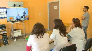 Teleconsulta entre el Hospital de El Trapiche y el Policlínico San Luis