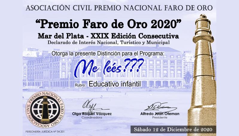 Otro premio para la ULP: ¿Me leés? fue distinguido en Mar del Plata