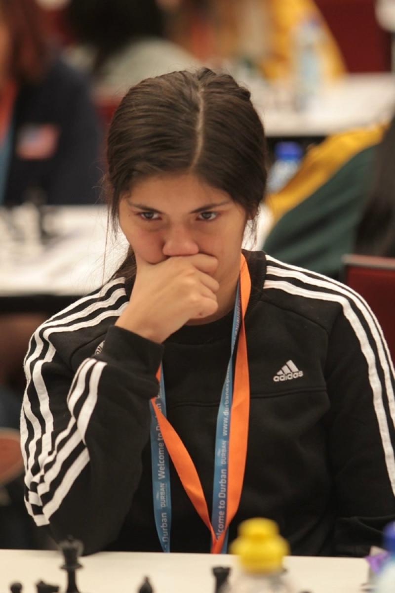 Guadalupe Besso tuvo una destacada participación en el mundial de Ajedrez Juvenil