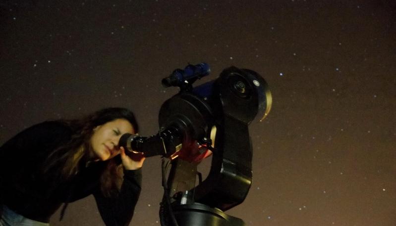 La astronomía y la ciencia llegaron a Concarán
