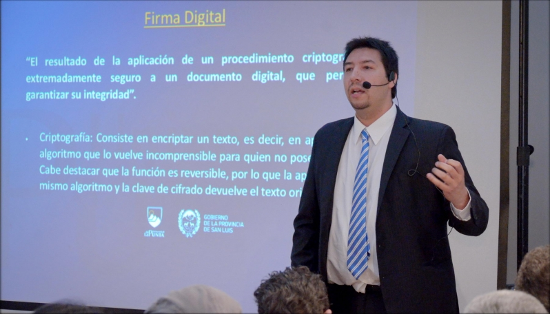 El director del Instituto de Firma Digital disertará en la UBA