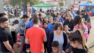 Las iniciativas de la ULP se trasladaron al barrio 131 Viviendas