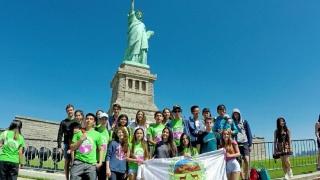 Los olímpicos conocieron lugares emblemáticos de Estados Unidos