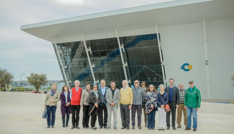 Embajadores de distintos países de Europa visitaron el Campus Abierto ULP