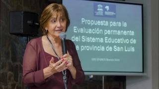 """""""Que San Luis haya apostado a evaluar su calidad  educativa demuestra un grado de madurez significativo"""""""