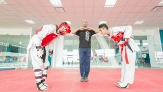 El Campus fue escenario del segundo encuentro de escuelas de taekwondo
