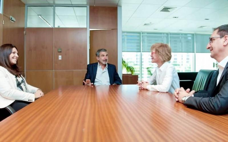 La ministra Bañuelos se reunió con su par de Nación, Roberto Salvarezza