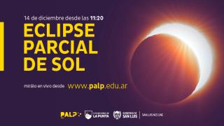 Este lunes tendrá lugar un eclipse solar y será transmitido por el sitio web del Parque Astronómico de La Punta