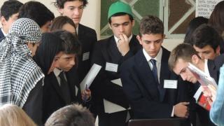 Cuatro alumnos, un desafío internacional